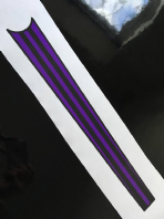 Racing Stripes Top Tube (selectable colour)